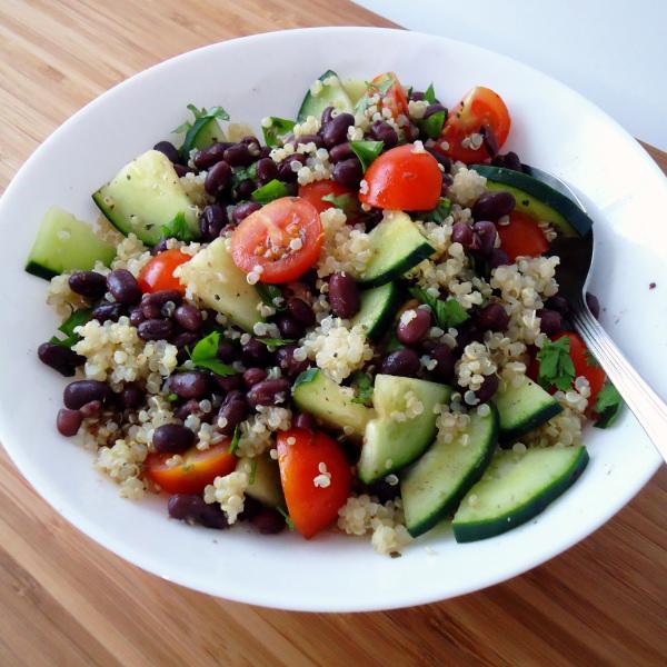 Salada de feijão adzuki