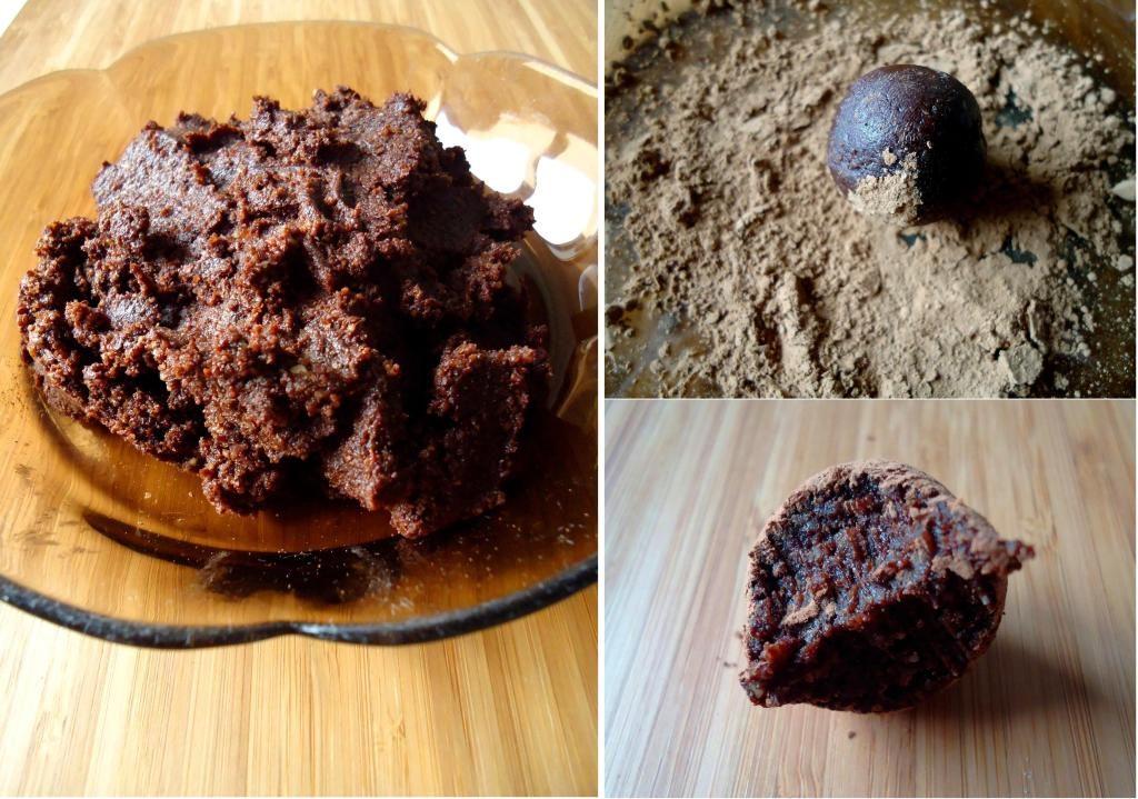 Compassionate Cuisine - Receitas vegetarianas - Trufas de Chocolate (cruas)