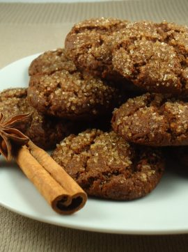 Bolachas de melaço e especiarias - Receita Vegetariana