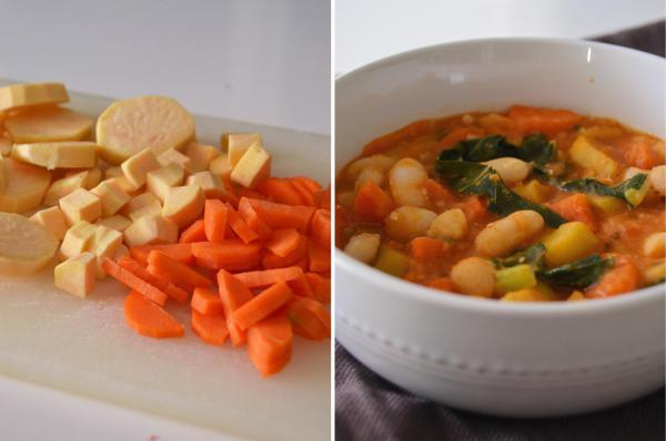 Compassionate Cuisine - Receitas vegetarianas - Estufado de feijão com vegetais