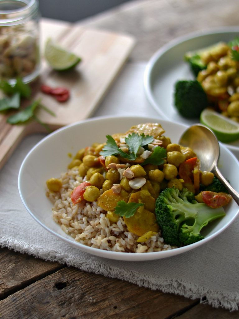 Compassionate Cuisine - Receitas vegetarianas - A minha receita de caril