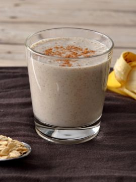 Compassionate Cuisine - Receitas vegetarianas - Batido de banana e aveia