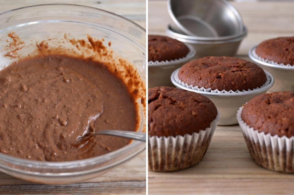 Compassionate Cuisine - Receitas vegetarianas - Cupcakes de chocolate com cobertura de coco
