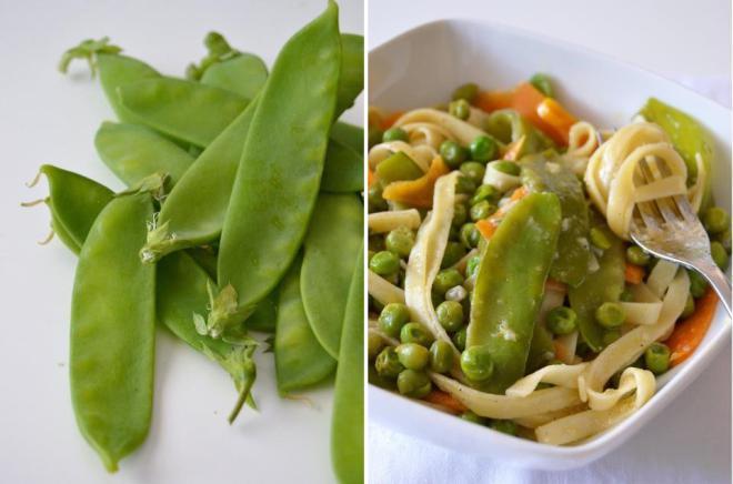 Compassionate Cuisine - Receitas vegetarianas - Massa primaveril com molho de alho assado