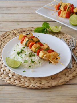 Espetadas de tofu e vegetais - Receita Vegetariana