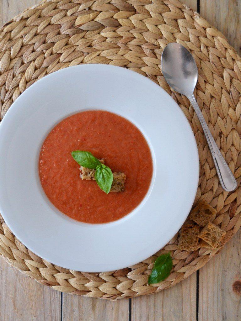 Compassionate Cuisine - Receitas vegetarianas - Gaspacho Andaluzio