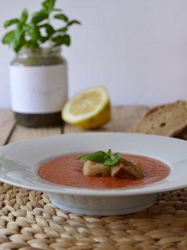 Gaspacho Andaluzio - Receita Vegetariana