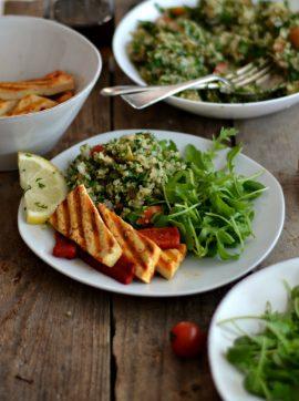 Tabbouleh - Receita Vegetariana