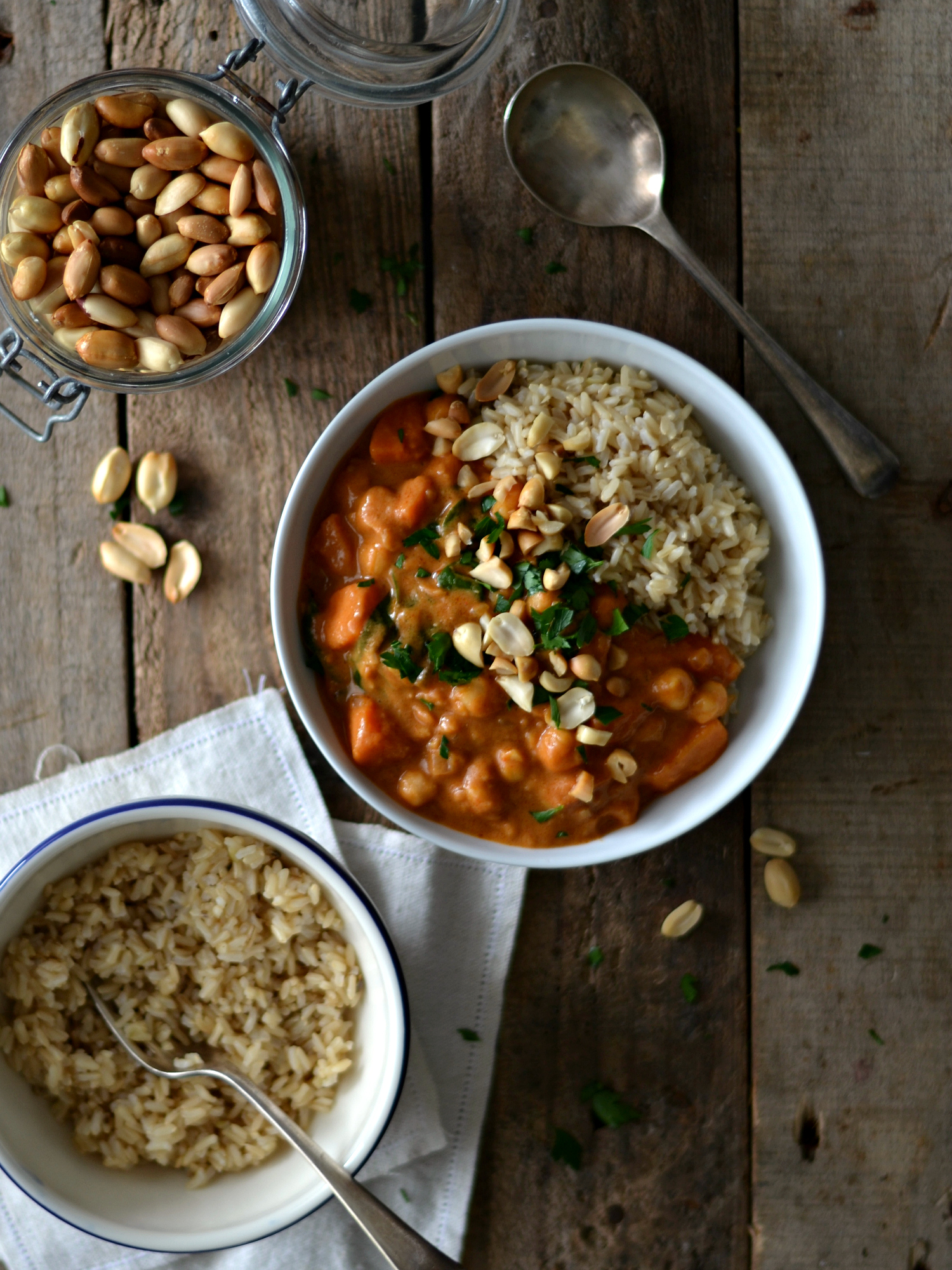 Peanut butter sweet potato stew1
