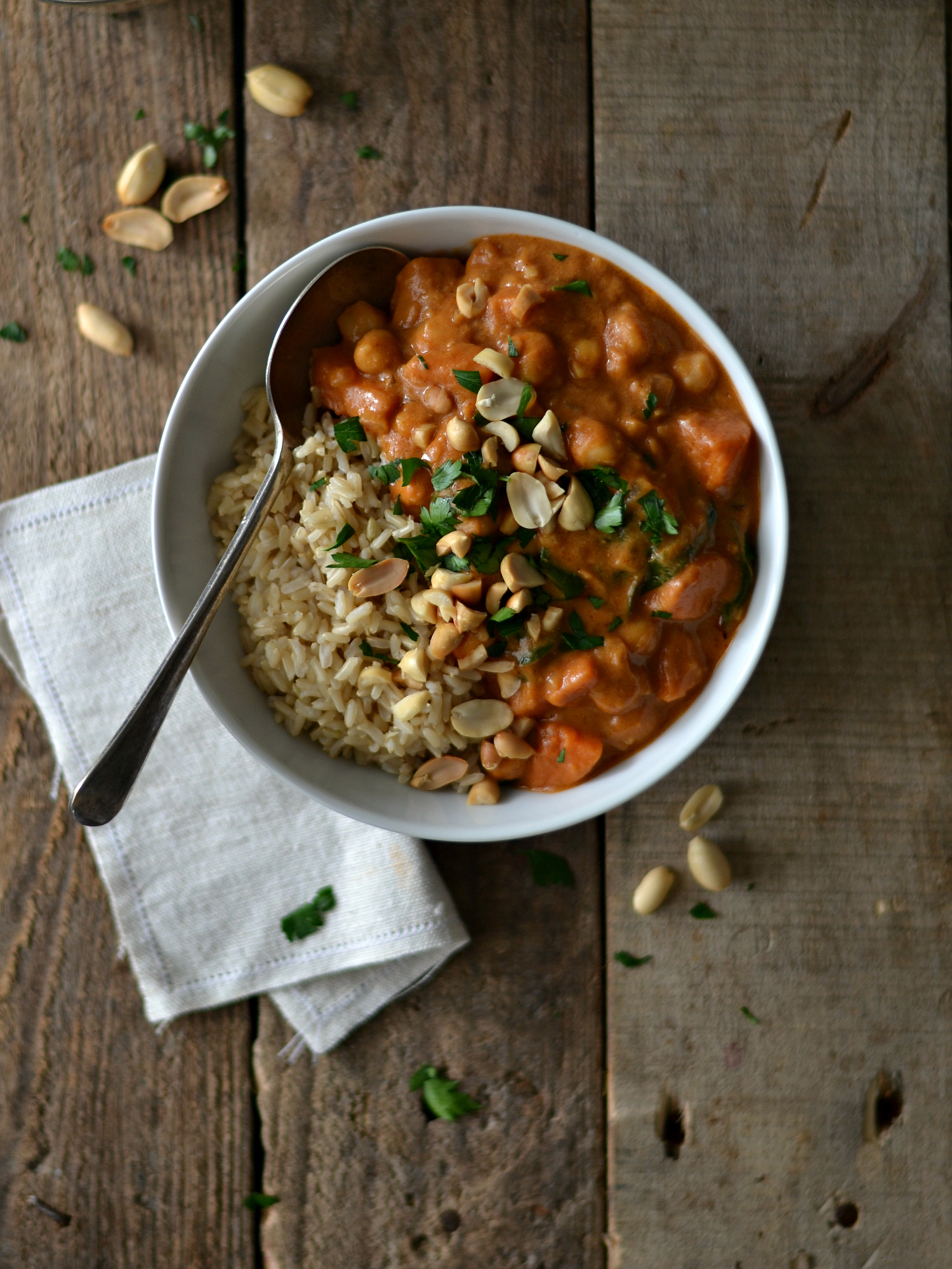 Peanut butter sweet potato stew2