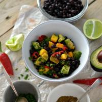 black bean salad200