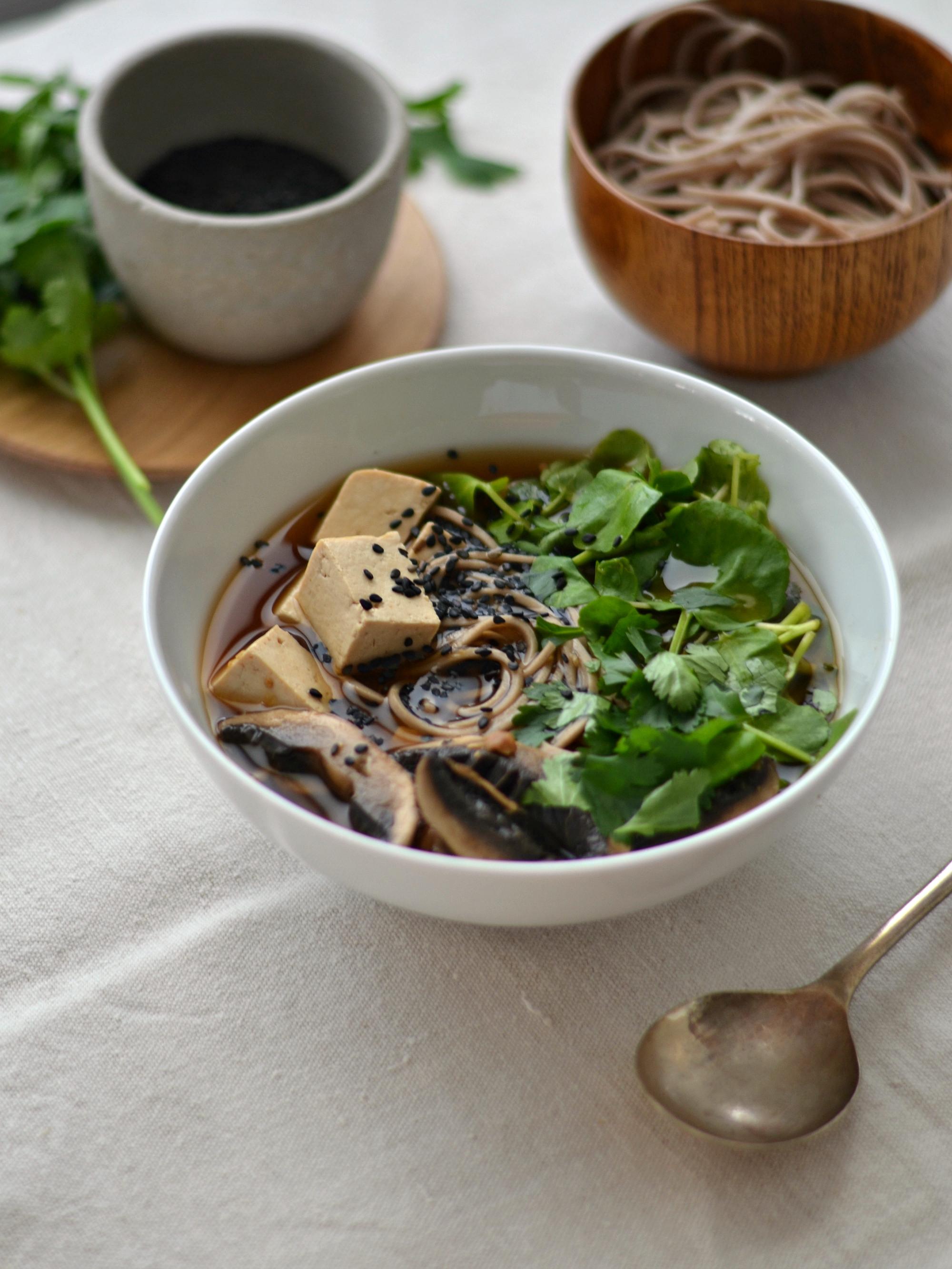 Compassionate Cuisine - Receitas vegetarianas - Sopa de Miso