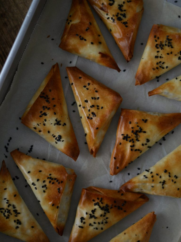 Compassionate Cuisine - Receitas vegetarianas - Chamuças de tempeh