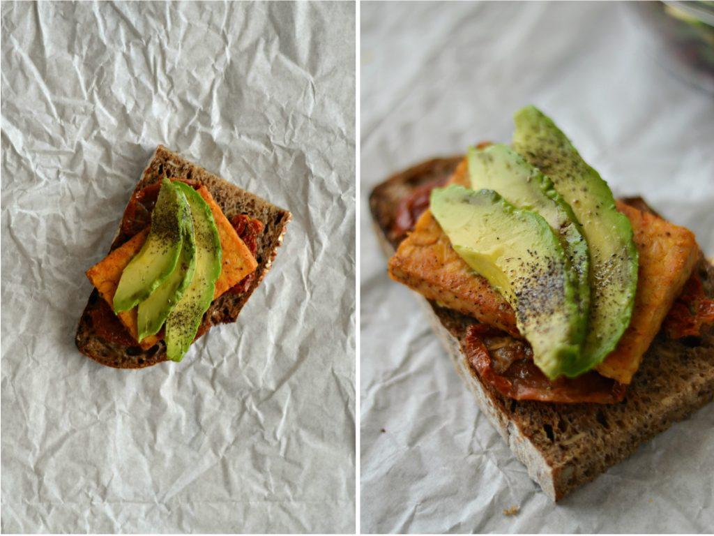 Compassionate Cuisine - Receitas vegetarianas - Snacks para Levar em Viagem - Sandes de Tempeh