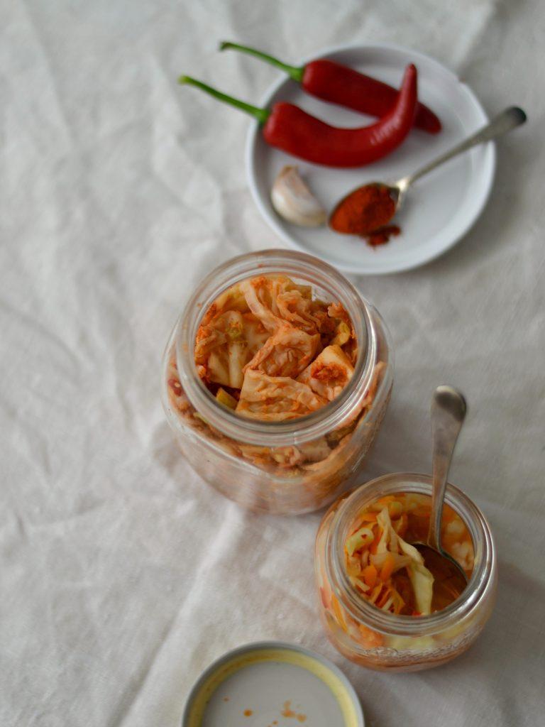 Compassionate Cuisine - Receitas vegetarianas - Legumes Fermentados - Kimchi