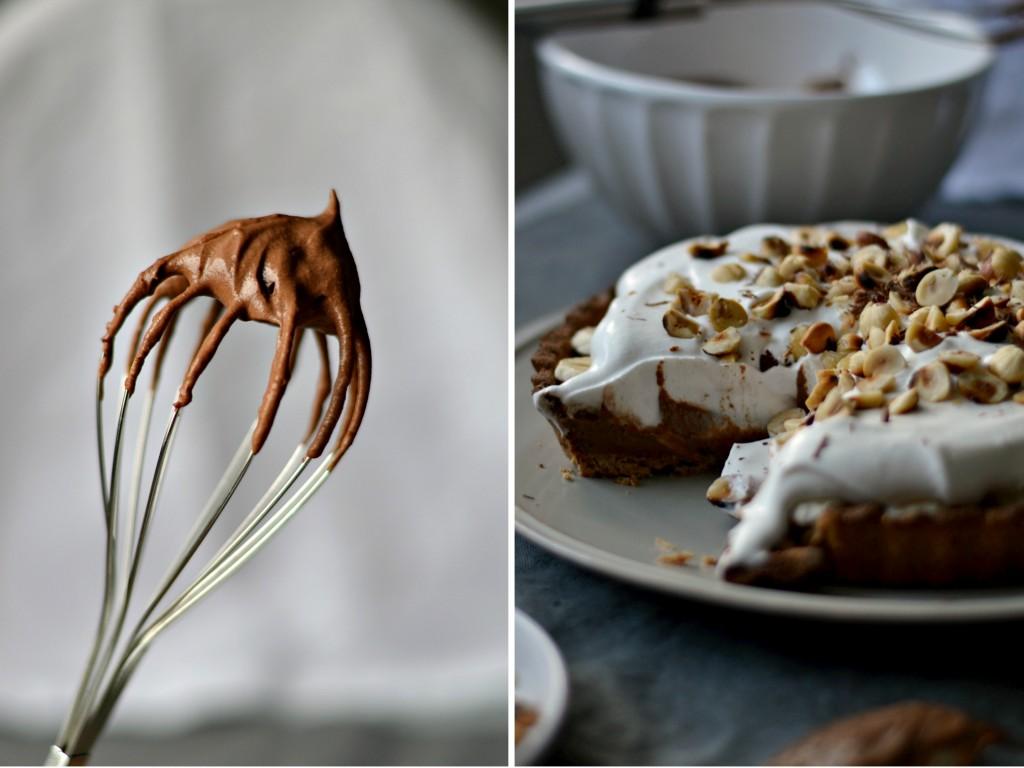 Compassionate Cuisine - Receitas vegetarianas - Tarte de Banana, Chocolate e Avelã