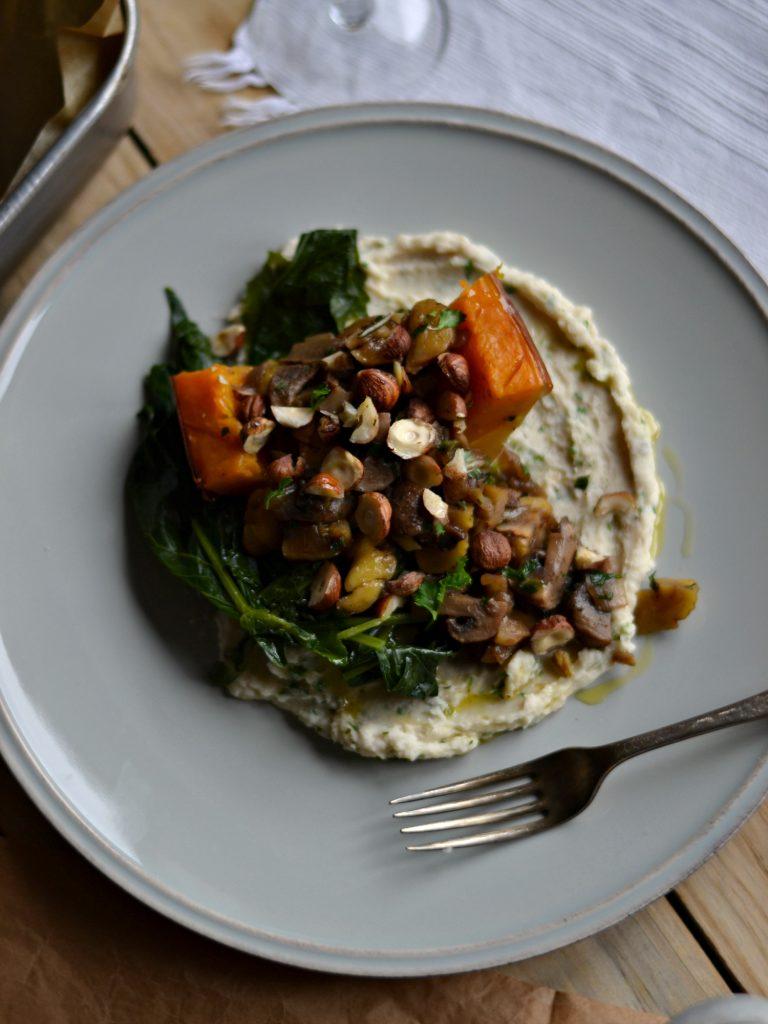Compassionate Cuisine - Receitas vegetarianas - Sugestões para a Ceia de Natal - Abóbora Recheada com Puré de Feijão Branco
