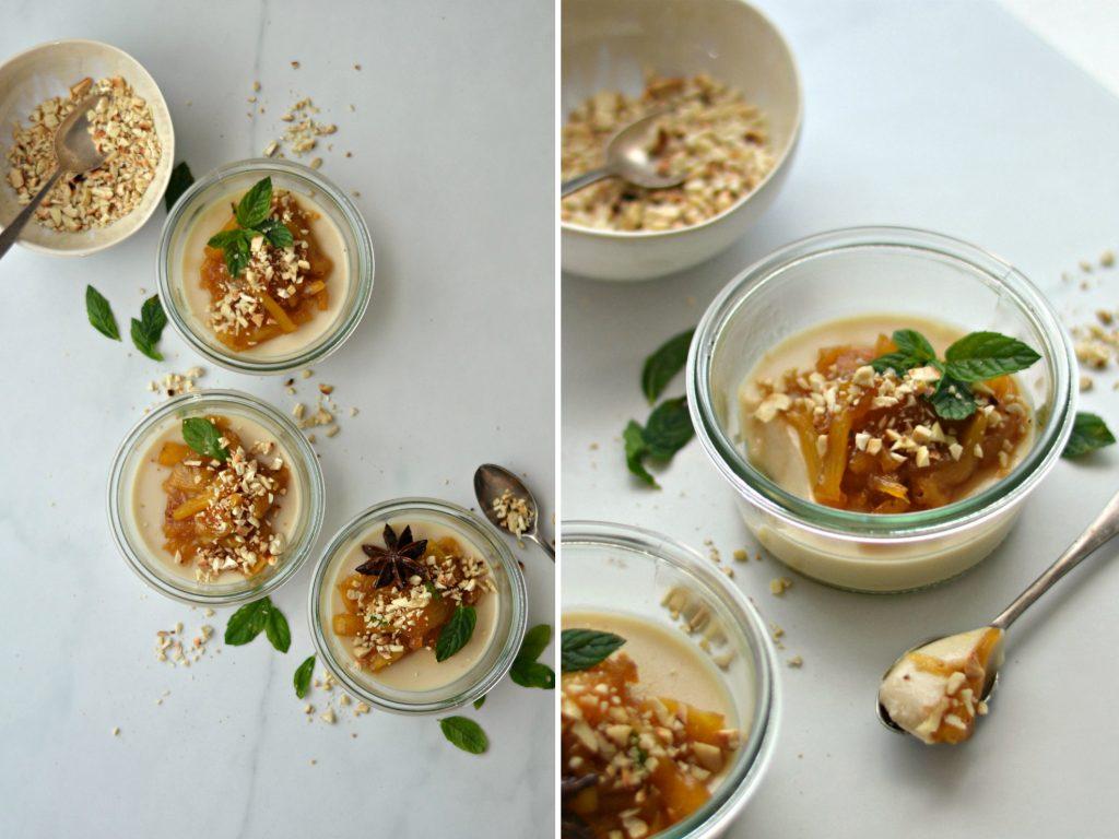 Compassionate Cuisine - Receitas vegetarianas - Pudim de Lima e Abacaxi