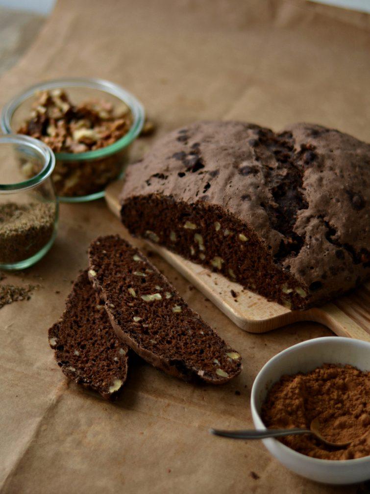 Pão de Centeio, Alfarroba e Nozes