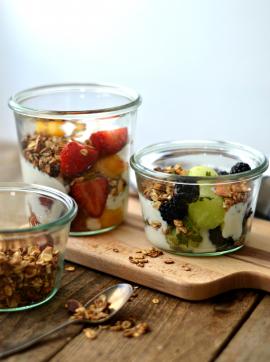 Frutas de verão maceradas - Receita Vegetariana