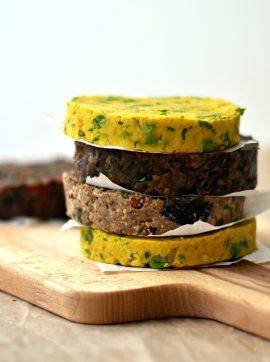 "Como fazer ""hambúrgueres"" de leguminosas - Receita Vegetariana"