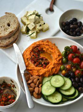 Húmus de tremoço - Receita Vegetariana