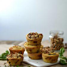 Compassionate Cuisine - Receitas vegetarianas - Queques de grão-de-bico e vegetais