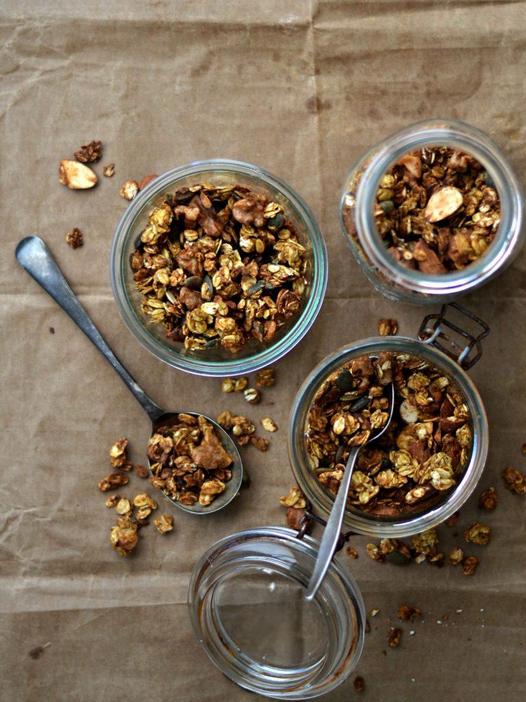 Granola de Abóbora - Compassionate Cuisine - Receitas Vegetarianas