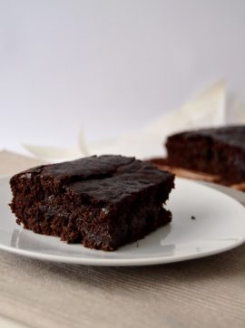 Brownies - Receita Vegetariana