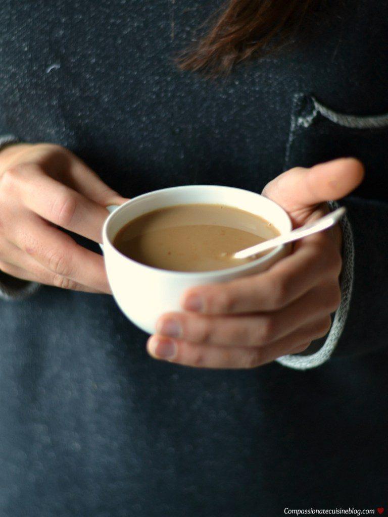 Compassionate Cuisine - Receitas vegetarianas - Cacau quente com chai