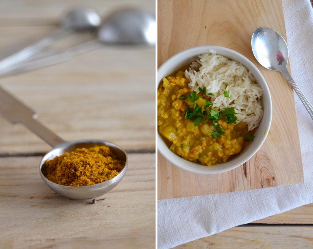 Caril de lentilhas e batata-doce com leite de coco - Compassionate Cuisine - Receitas Vegetarianas