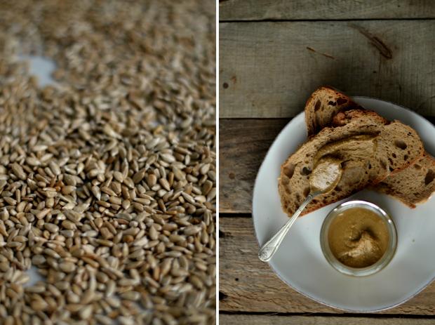 """Compassionate Cuisine - Receitas vegetarianas - Creme de sementes de girassol + """"Compota"""" de sementes de chia"""