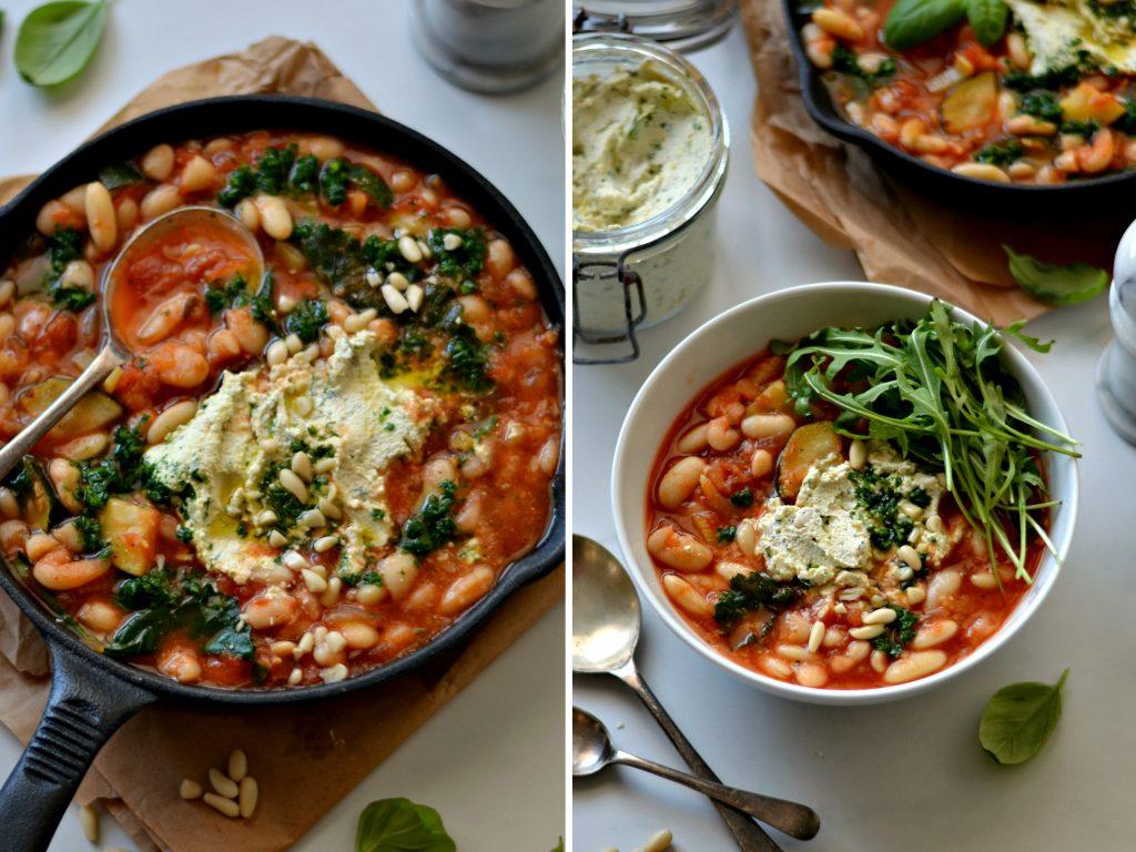 """Estufado de Feijão Branco com """"Requeijão"""" - Compassionate Cuisine - Receitas Vegetarianas"""