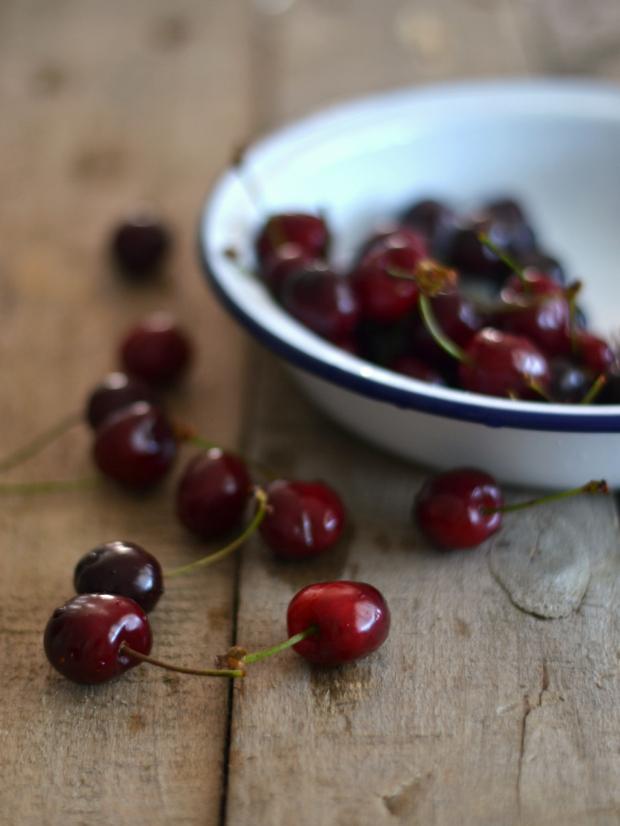 Compassionate Cuisine - Receitas vegetarianas - Mousse de chia e cereja