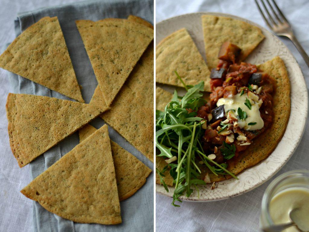 Panquecas de Grão-de-Bico - Compassionate Cuisine - Receitas VegetarianasPanquecas de Grão-de-Bico - Compassionate Cuisine - Receitas Vegetarianas