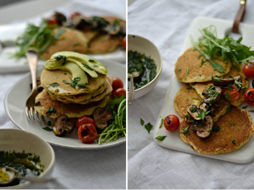 Panquecas de Grão-de-Bico - Compassionate Cuisine - Receitas Vegetarianas
