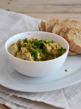 Pasta de beringela – Baba ghanoush - Receita Vegetariana
