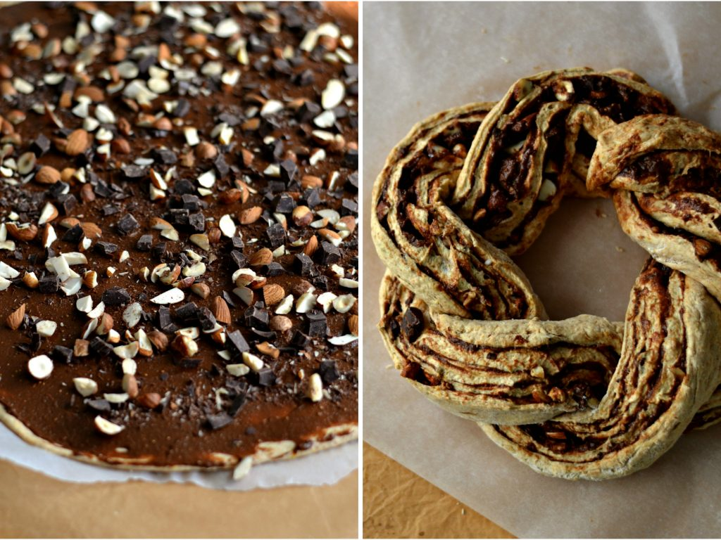 Rosca de Abóbora e Chocolate - Compassionate Cuisine - Receitas Vegetarianas