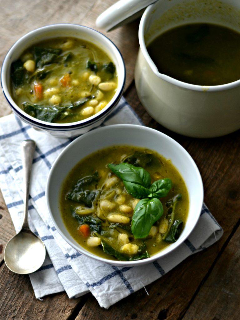 Sopa de Feijão Branco e Couve - Compassionate Cuisine - Receitas Vegetarianas