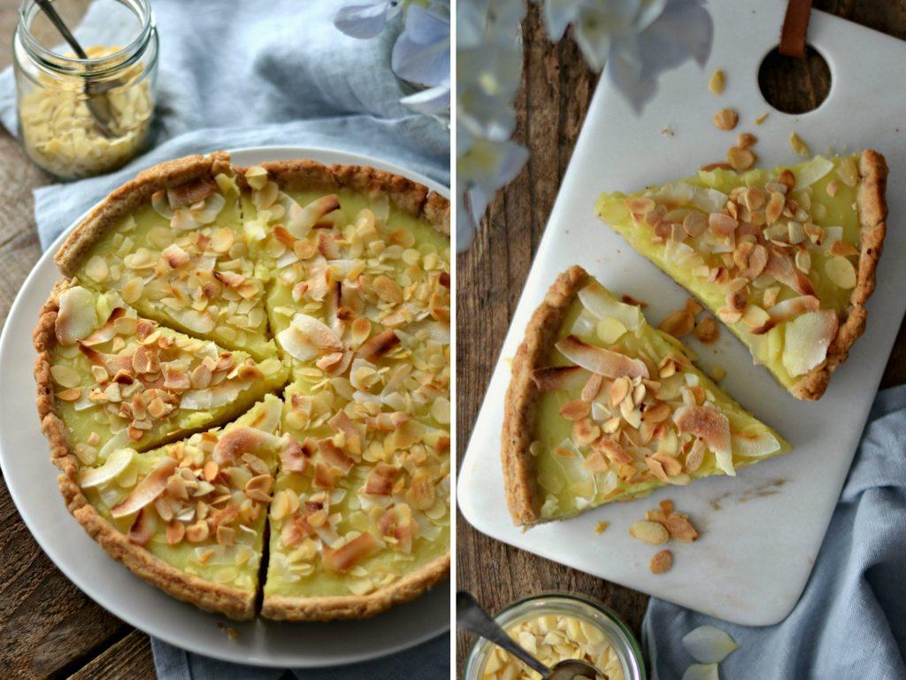 Tarte de Limão - Compassionate Cuisine - Receitas Vegetarianas