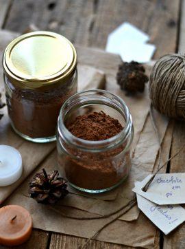 Preparado em pó de chocolate quente - Receita Vegetariana