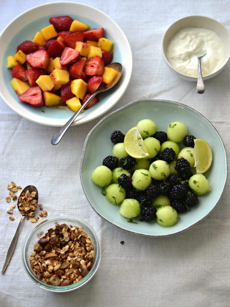 Frutas de Verão Maceradas - Compassionate Cuisine Blog - Receitas Vegetarianas