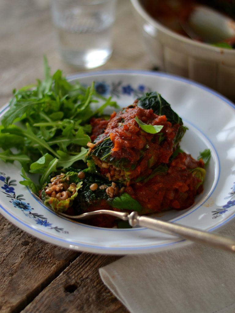 Rolinhos de couve - Compassionate Cuisine Blog - Receitas Vegetarianas