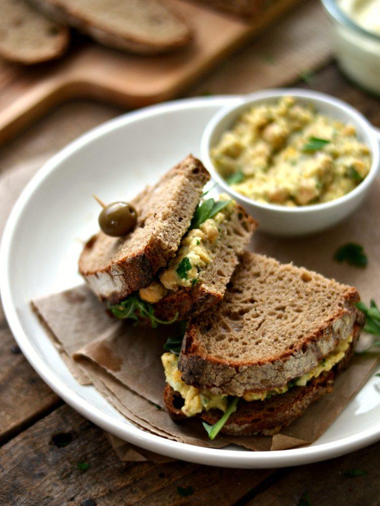 Pasta de grão-de-bico + Como fazer maionese vegetal