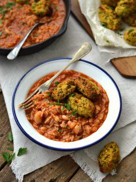 Bolinhos de curgete e cenoura - Receita Vegetariana